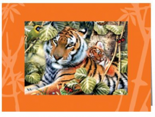 Cub Hugs Greeting Card | Tree-Free Greetings®